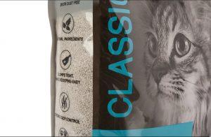 areia gato classic cem por cento natural