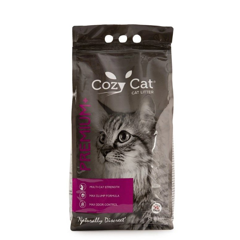 areia gato cozycat premium plus cem por cento natural