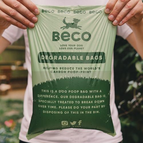 sacos degradáveis