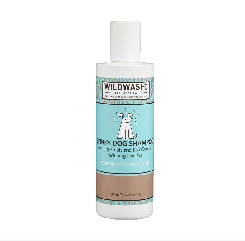 champô natural e saudável para cão
