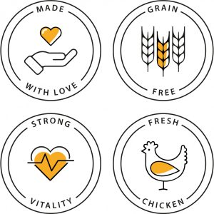 comida gato seca frango natural saudável sem cereais