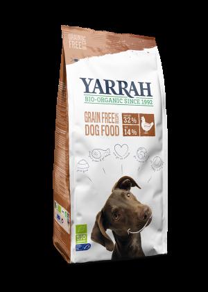 yarrah cão frango sem cereais