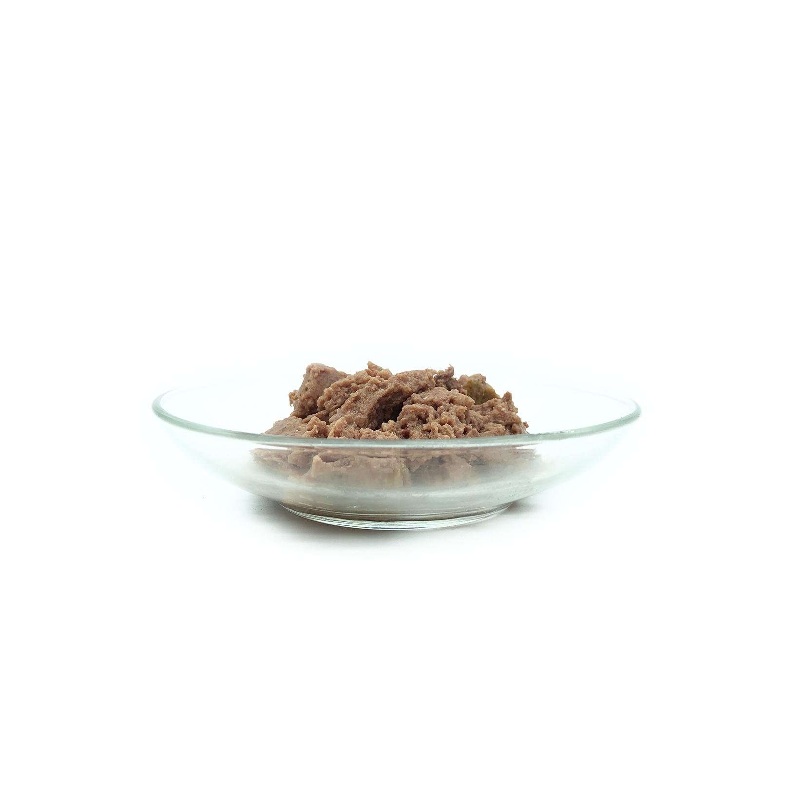 comida de salmão humida gato