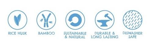 Tigela de bambu para cão Enquanto alimenta o seu cão de forma saudável, está também a proteger e a cuidar do ambiente!Uma tigela de bambu para comida e água feita de forma sustentável, que durará anos na sua casa, sendo biodegradável depois de descartada. Corantes alimentares naturais são usados para dar cor às tigelas.